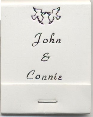 Personalized 20 stem Matchbook
